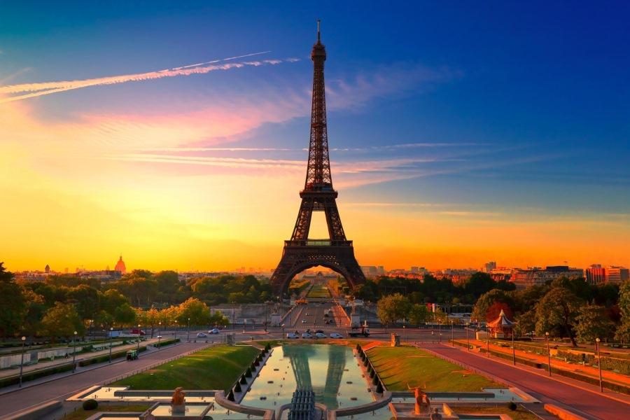 маршрут по Франции