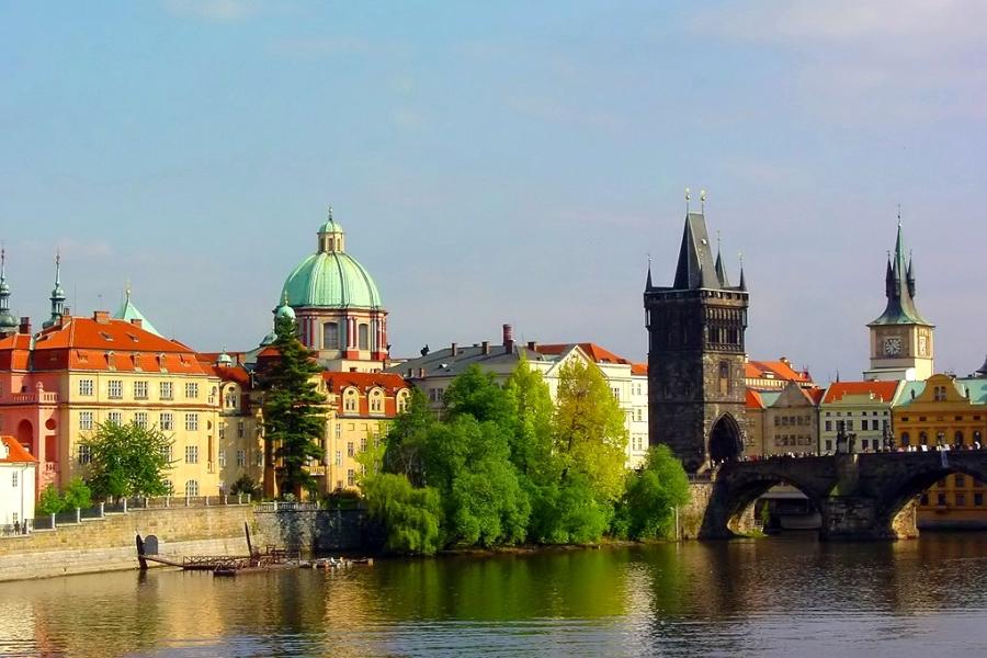 планирование маршрута по Чехии