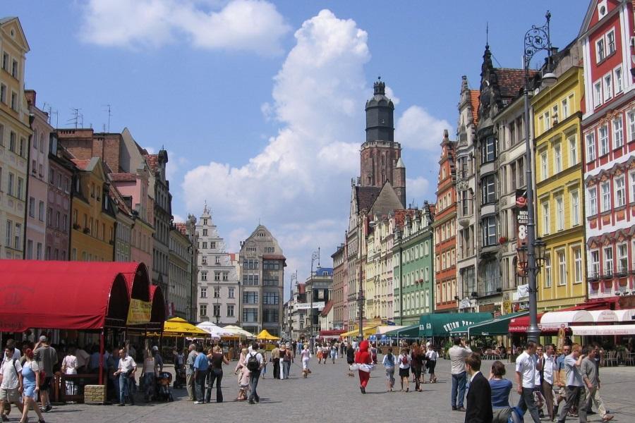 планирование маршрута по Польше