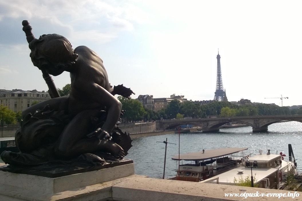 в Париж на 3 дня самостоятельно