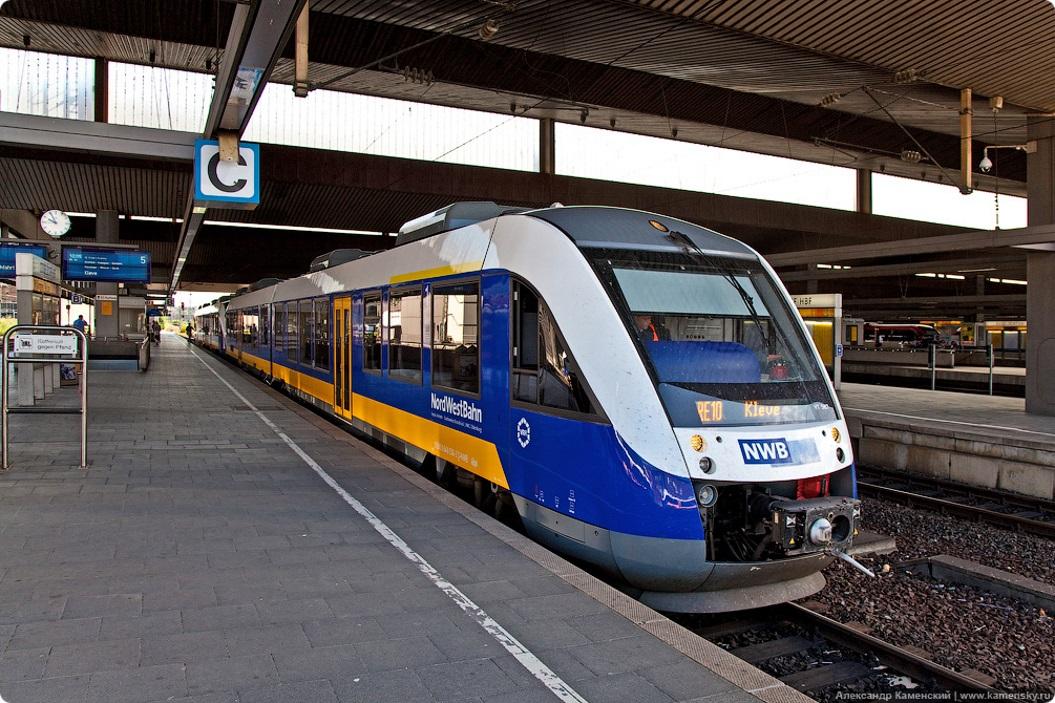 каким транспортом путешествовать по Германии