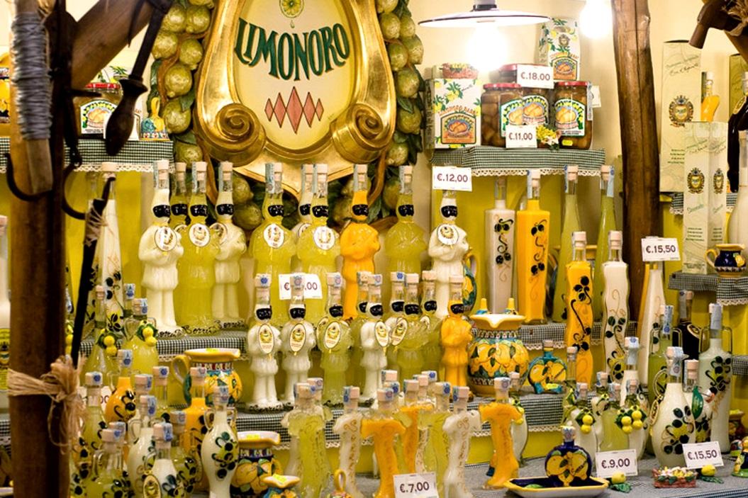 алкогольные сувениры из Италии
