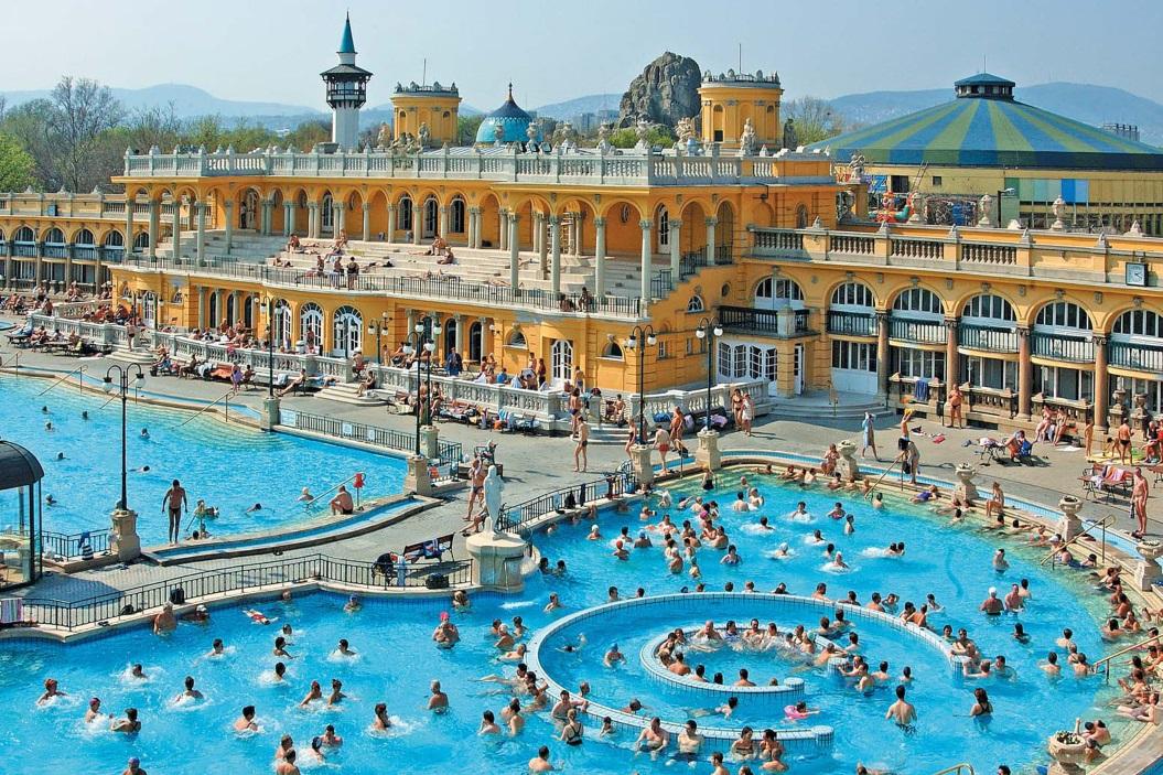 в Будапешт на выходные в купальни