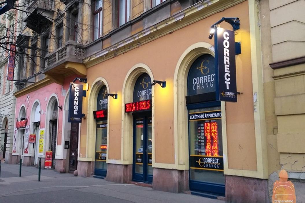 обмен валют в Будапеште
