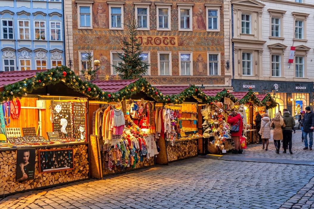 новогодняя чешская столица