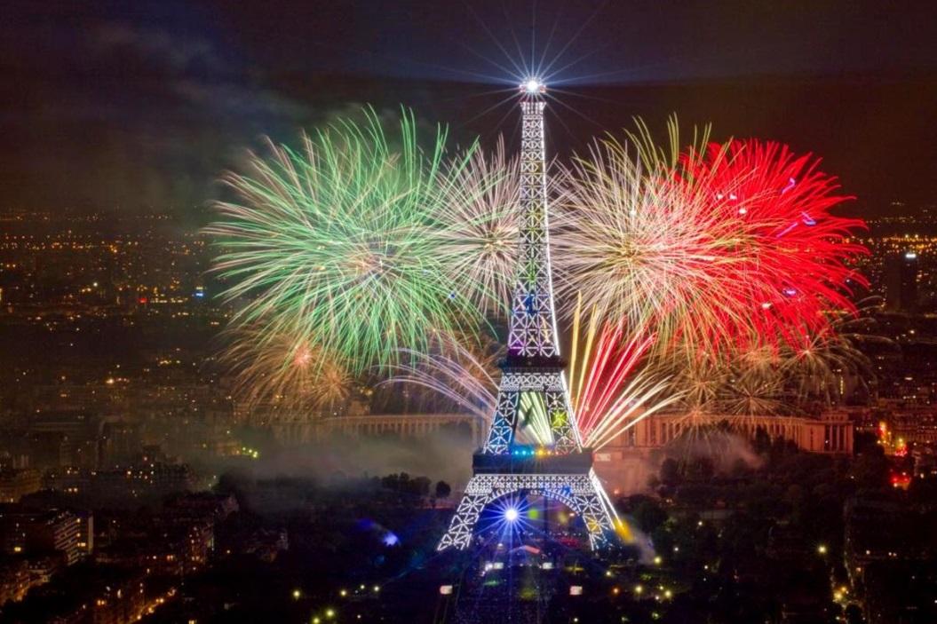 Новый год 2020 в Париже